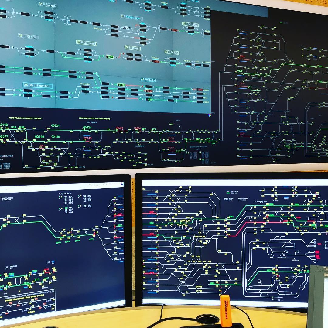 Hvordan bli togleder - Operatørplass togleder Oslo